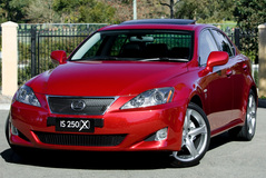 Lexus IS 250 2008 года
