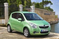Opel Agila 2015 года