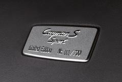 Porsche Cayman 2008 года