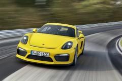 Porsche Cayman GT4 2015 года