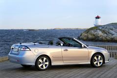 Saab 9-3 Convertible 2008 года