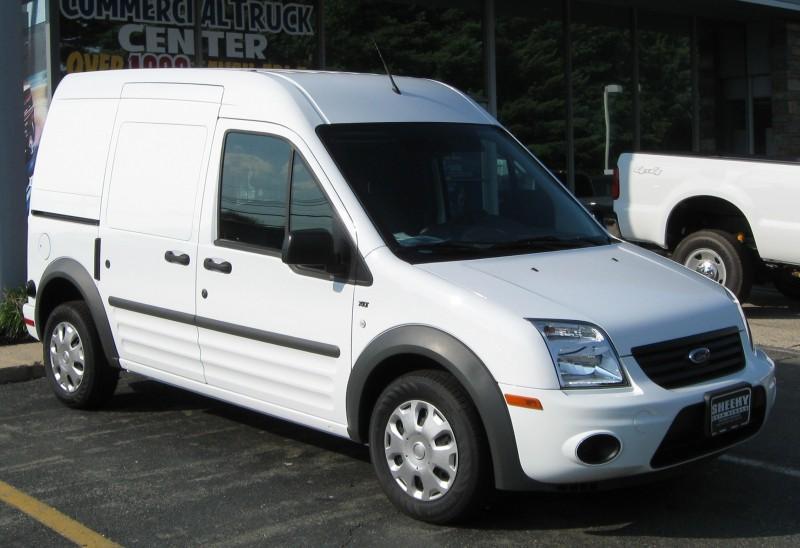 неполадки автомобиля с пробегом ford transit connect