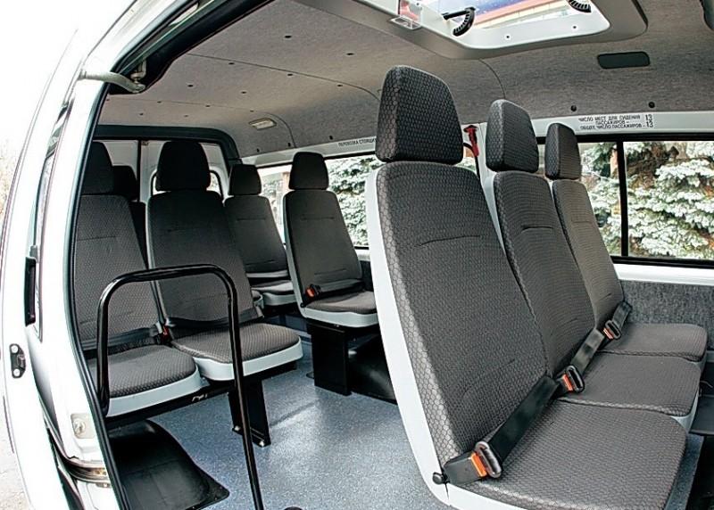 Нужно ли детское кресло в пассажирской газеле