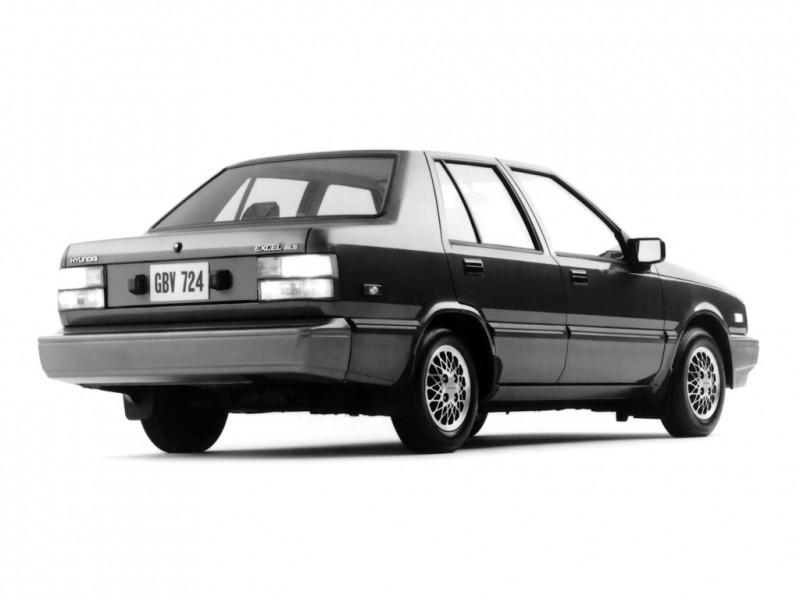 hyundai excel 1985 года