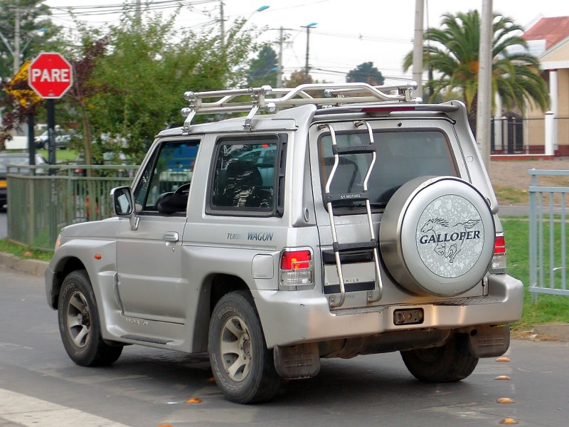 дефлектор капота hyundai galloper innovation