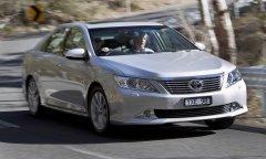 Обновленный седан Toyota Aurion