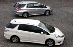 Продажа универсала Honda Shuttle на японском рынке