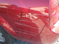 Удаление царапин на автомобиле своими руками