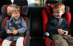 Штраф за ребенка без кресла: провоз детей в автомобиле