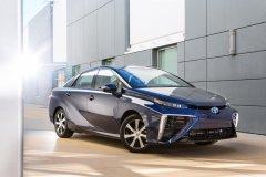 Водородная модель Toyota Mirai