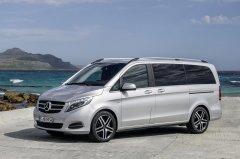 Mercedes-Benz V-Class – практичный минивэн с кучей «наворотов»