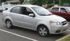 Седан Chevrolet Aveo – постоянный шанс на успех