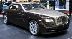 Rolls Royce Wraith - версия с мощными показателями