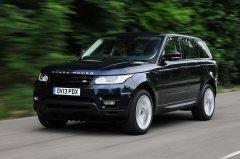 Range Rover Sport: Новый спортивный внедорожник
