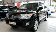 Toyota Land Cruiser 200 с небольшими обновлениями!