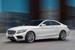 Обновлённое купе Mercedes C-Class