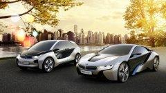 Экологичные автомобили BMW i3 и i8 concepts