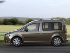 Volkswagen Caddy – вместительный фургон для активных людей