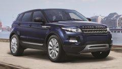 Мощные внедорожники Land Rover