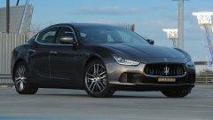 """Седан Maserati Ghibli – спорт в """"кубе"""""""