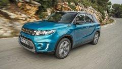 Suzuki Vitara - все препятствия легко преодолеваются