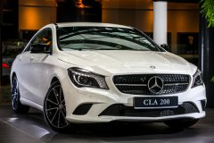 Mercedes-Benz CLA200 – в поиске новых поклонников