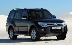 Четвертое поколение внедорожника Mitsubishi Pajero