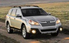 Четвертое поколение универсала Subaru Outback
