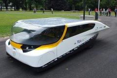 Stella - высокотехнологичный электромобиль на солнечных батареях