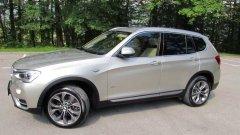 Автомобиль BMW X3 в рестайлинге 2014 года