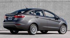 Новый седан Fiesta от Ford