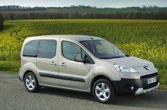 Второгое поколение Peugeot Partner