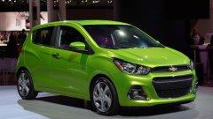 Chevrolet Spark – идеальное авто для жителя города