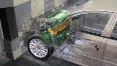 Как работают зоны деформации кузова автомобиля
