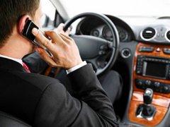 Штраф за разговор по телефону за рулем в 2017 году