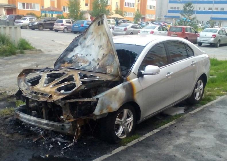 Згорів автомобіль: що робити?