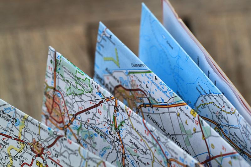 Заранее планируем маршрут поездки