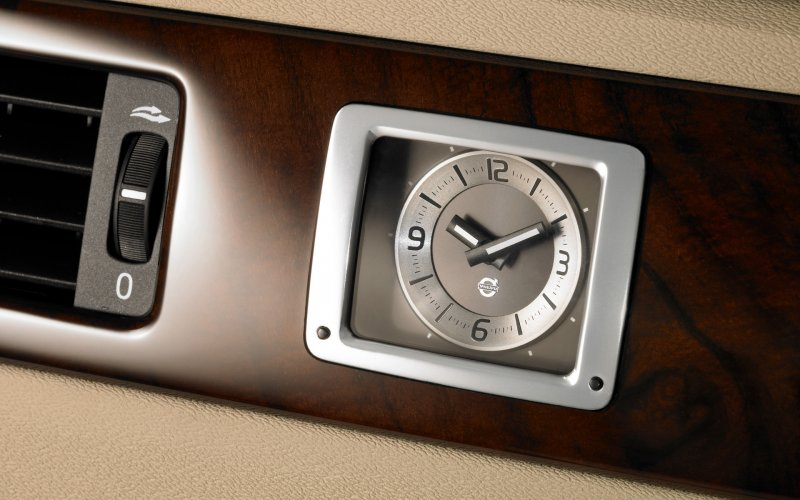 Механічні годинники в автомобілі