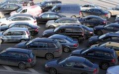 Самые нелепые причины появления пробок на дорогах
