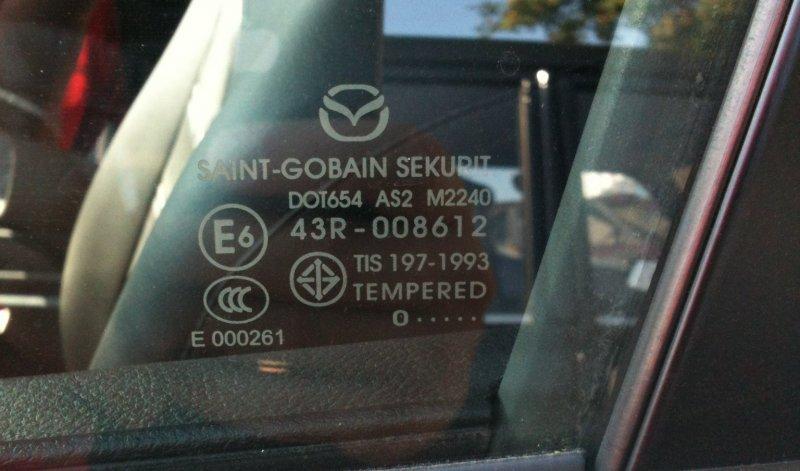 Що ховається за маркуванням на автомобільних склі?