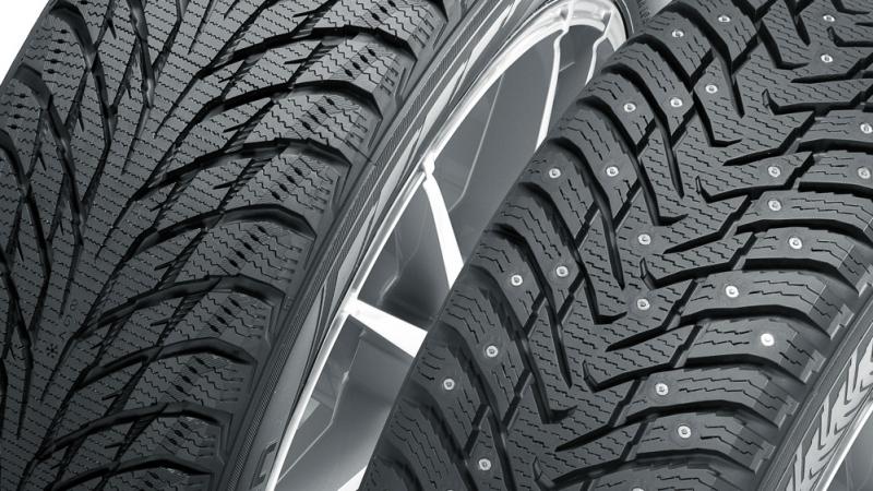Специальные шины с металлическими шипами