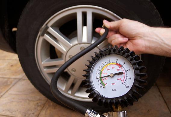 Регулируем давление шин