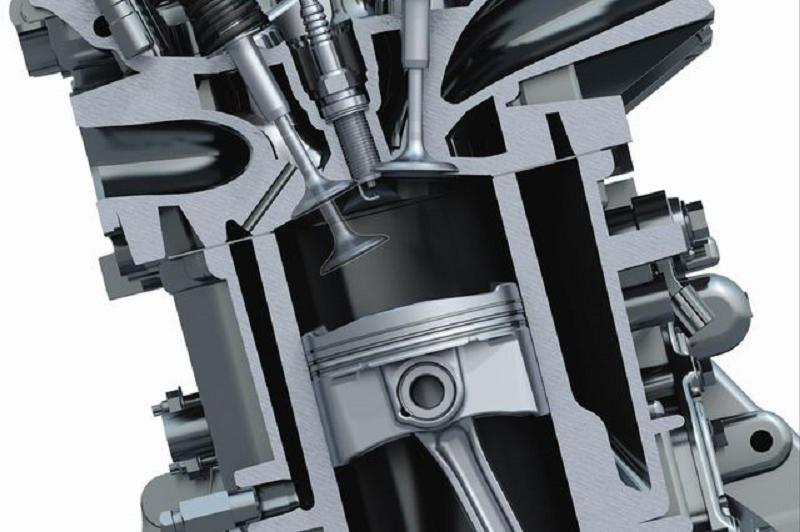 Работа клапанов в двигателе