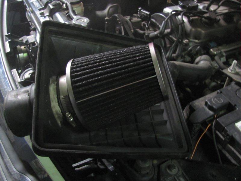 Фильтр нулевик установленный в штатный корпус фильтра
