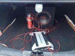 Установка сабвуфера в машину