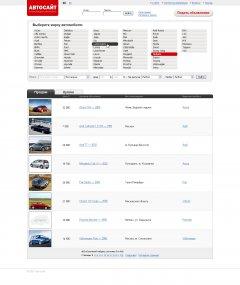 Доска объявлений авто имеет большое количество разных объявлений.