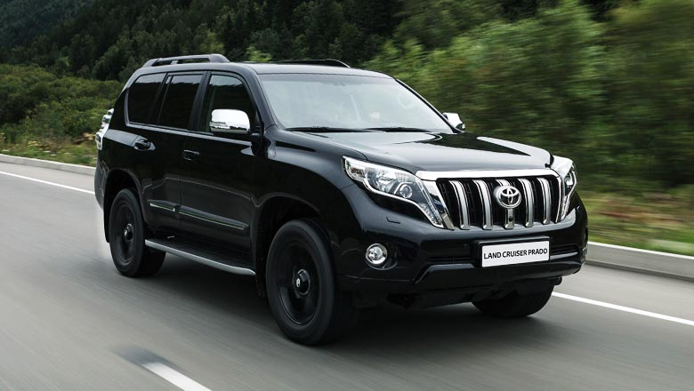 рейлинги toyota prado land cruiser 150