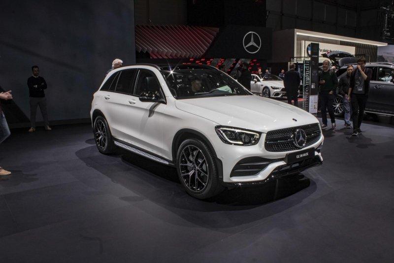 Компактный кроссовер премиального класса Mercedes-Benz GLC-Class 2019