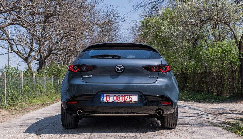 Mazda3 Skyactiv в версии 2019 года