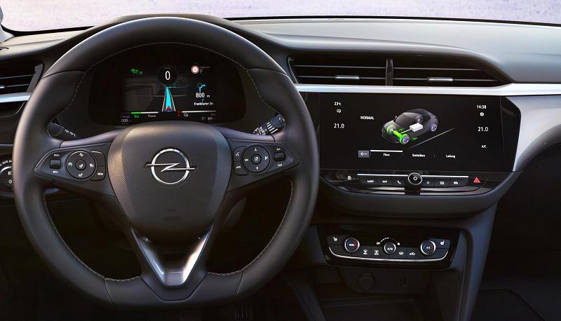 Opel Corsa в версии 2020 года